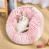 Adjustable Pet Sleeping Bed-Cat beds-petsoftcare-Pink-M 40x40x27cm-petsoftcare