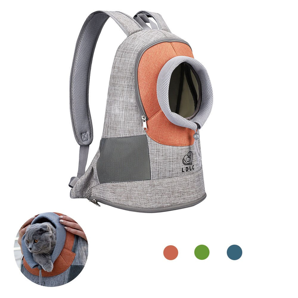 Portable Travel Backpack Outdoor Ventilation For Small Dogs and Cats-Cat bags-petsoftcare-petsoftcare