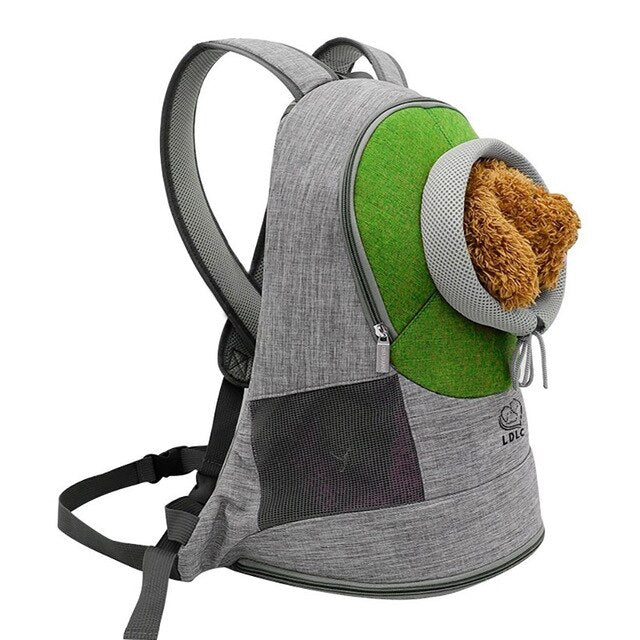 Portable Travel Backpack Outdoor Ventilation For Small Dogs and Cats-Cat bags-petsoftcare-Green-M-petsoftcare