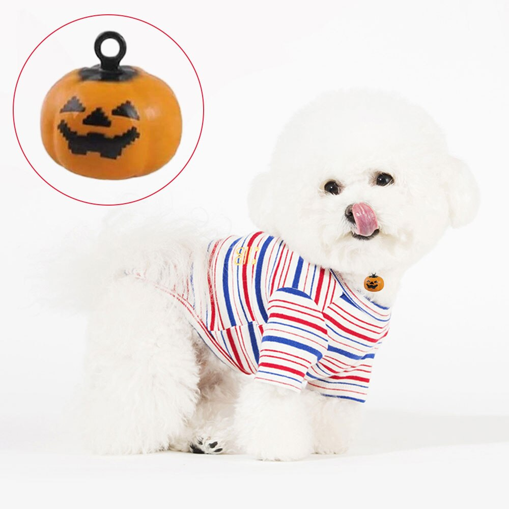 New Arrival 10pcs Pumpkin Bells Kit Pet Dog Bells Toys-petsoftcare-petsoftcare