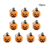 New Arrival 10pcs Pumpkin Bells Kit Pet Dog Bells Toys-petsoftcare-type 2-petsoftcare
