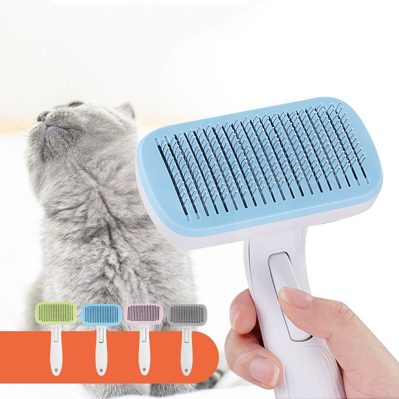 Pet Grooming Toll Automatic Hair Brush Remover-Pet Grooming-petsoftcare-petsoftcare