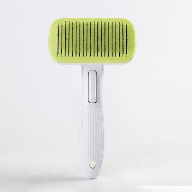 Pet Grooming Toll Automatic Hair Brush Remover-Pet Grooming-petsoftcare-Green-L-petsoftcare