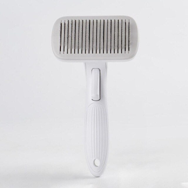 Pet Grooming Toll Automatic Hair Brush Remover-Pet Grooming-petsoftcare-Gray-L-petsoftcare