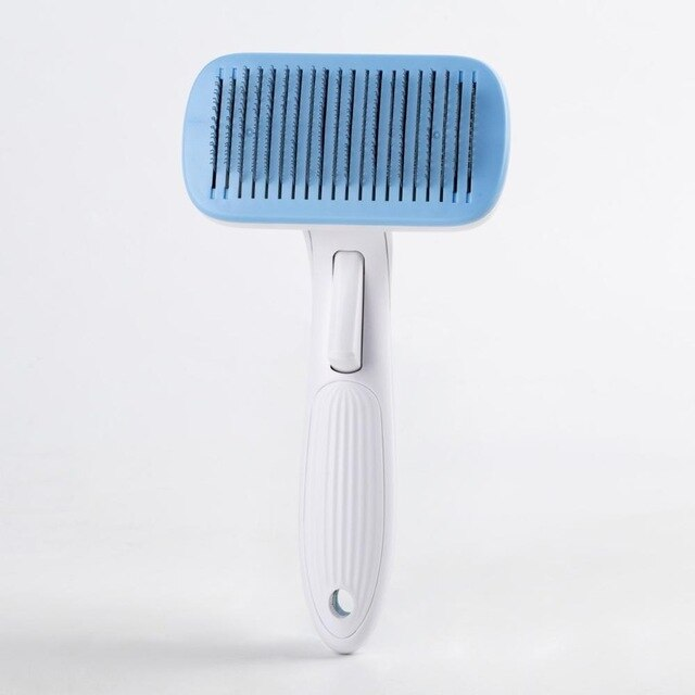 Pet Grooming Toll Automatic Hair Brush Remover-Pet Grooming-petsoftcare-Blue-L-petsoftcare