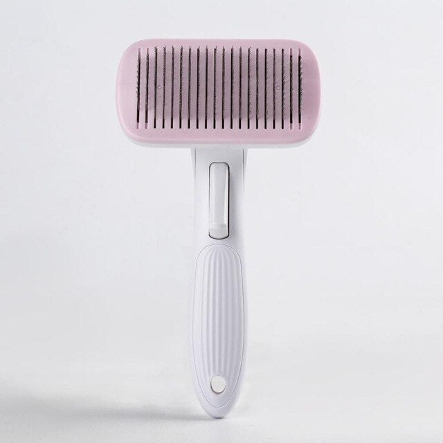 Pet Grooming Toll Automatic Hair Brush Remover-Pet Grooming-petsoftcare-Pink-L-petsoftcare