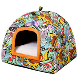 Comfortable Warm Bed Cat Cave-Cat bed-petsoftcare-petsoftcare