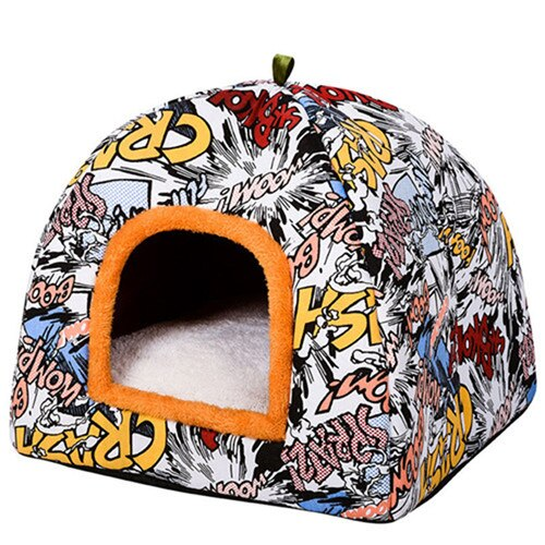 Comfortable Warm Bed Cat Cave-Cat bed-petsoftcare-4-M-petsoftcare