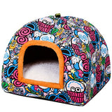 Comfortable Warm Bed Cat Cave-Cat bed-petsoftcare-2-M-petsoftcare