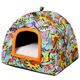Comfortable Warm Bed Cat Cave-Cat bed-petsoftcare-1-M-petsoftcare