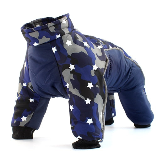 Dogs Waterproof Suit Pet Jackets Snowsuit-Dog apparel-petsoftcare-Star-M-petsoftcare
