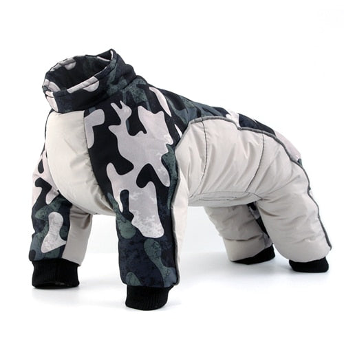 Dogs Waterproof Suit Pet Jackets Snowsuit-Dog apparel-petsoftcare-Gray-XXL-petsoftcare