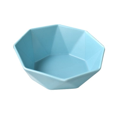 Lovely Bowl For Cat Protection Ceramics Cervical Vertebra Raised Stand-Cat Feeder & Waterers-petsoftcare-002-15.3 x 7.2 cm-petsoftcare
