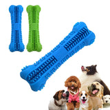 Doggy Brush Stick Soft Rubber Teeth Cleaning Chew Toy