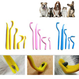 5Pcs/Set Tick Removal Hook Tool Clip Portable Cat Dog Supplies