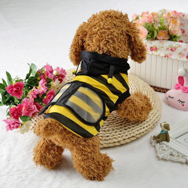 Pet Dog Clothes Hoodie Fancy Cat Bee Costume Puppy Coat-Halloween shop-petsoftcare-L-petsoftcare