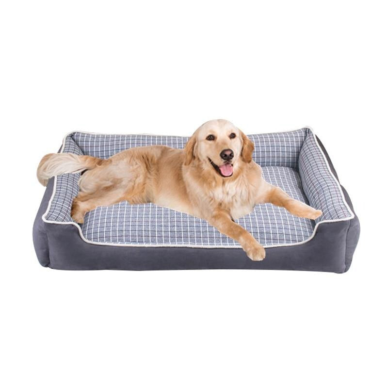 S-XL Detachable Wash Pet Dog Beds Waterproof Bottom Large Dog Bed
