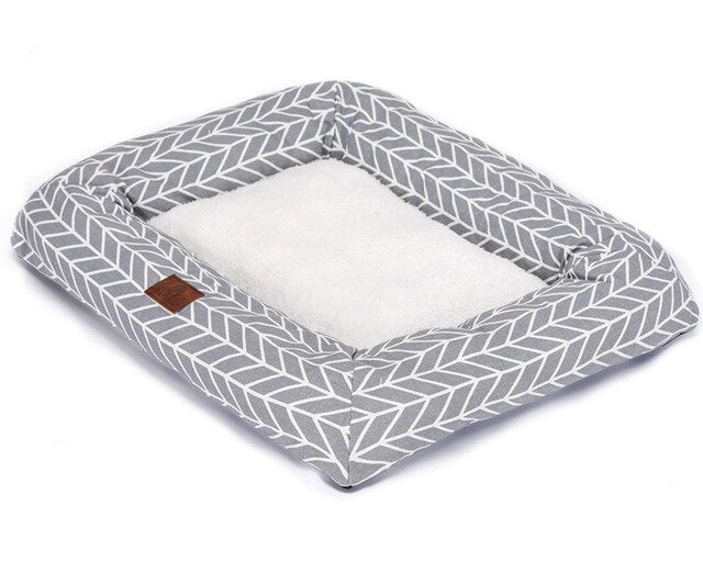Comfortable Dog Cushion Pet Bed-Dog beds-petsoftcare-Stripe-68 x 53 x 8 cm-petsoftcare