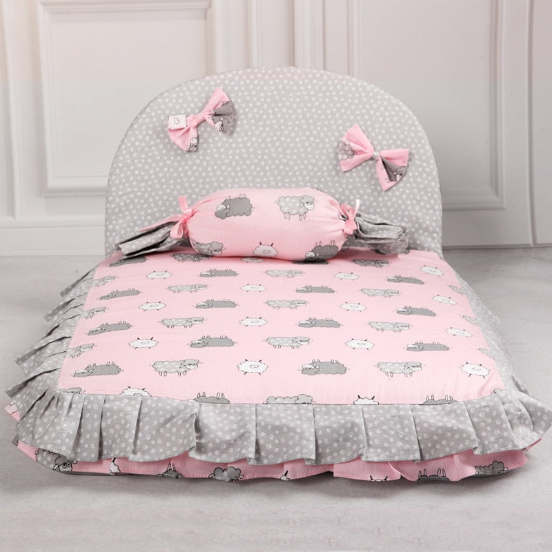 Candy Princess Dog Bed Dog House Nest