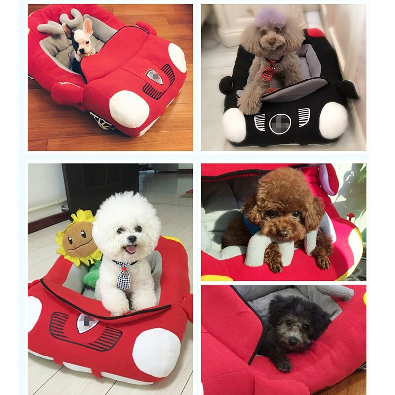 Hot Sell Puppy Pet Dog Bed Fashion Car Shape-Dog beds-petsoftcare-petsoftcare