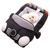 Hot Sell Puppy Pet Dog Bed Fashion Car Shape-Dog beds-petsoftcare-Black-72cm X 50cm X 30cm-petsoftcare