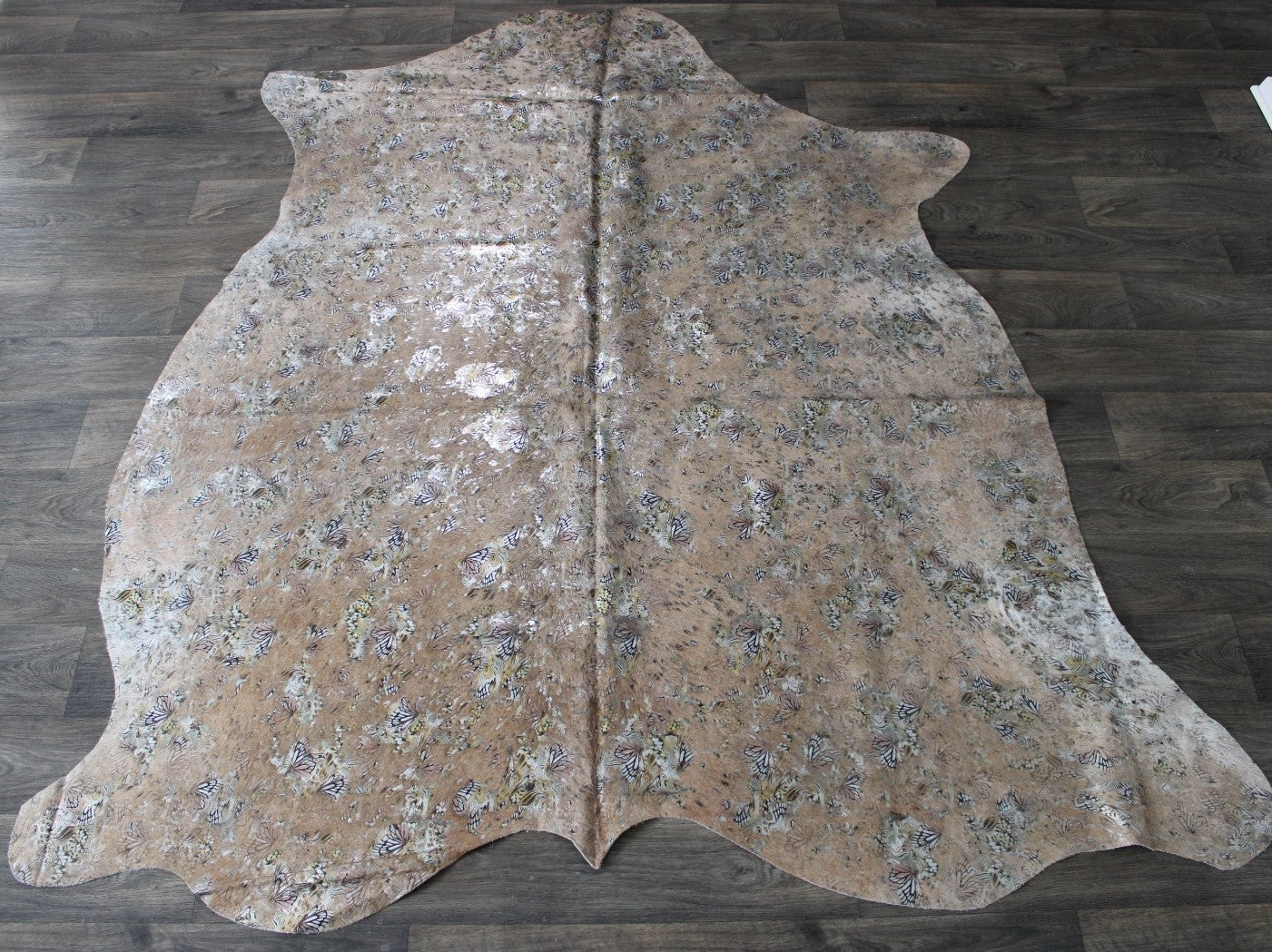 New Leather 3 or 4 or 5 or 6 sq ft Braided Fishtail SAGE GRAY  Cowhide 2.5-3 oz  1-1.2 mm PeggySueAlso\u2122 E3160-65