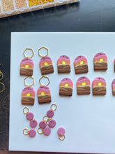 Load image into Gallery viewer, Red Rock Sunset Stitch Marker Set