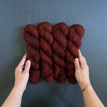 Load image into Gallery viewer, 'Under the Oak Tree' on Merino DK