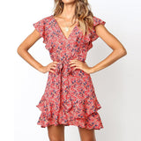 Robe Hippie Flower Power