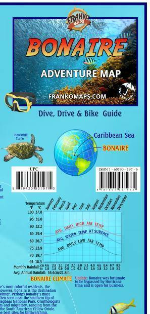 Bonaire Adventure Map - Frankos Maps