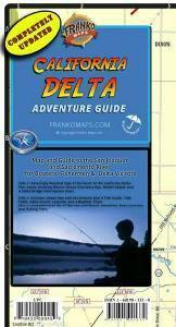 California Delta Adventure Guide Map - Frankos Maps