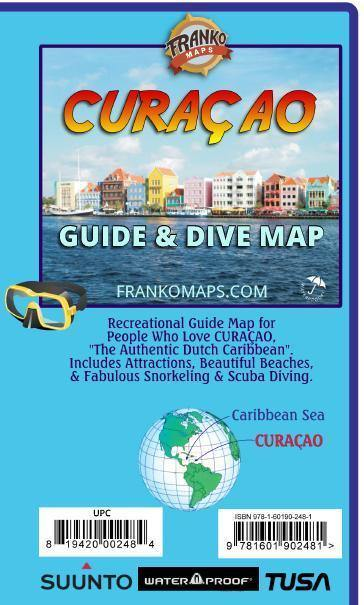 Curaçao Adventure Guide & Dive Map - Frankos Maps