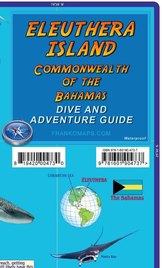 Franko Eleuthera Adventure Guide Map Cover