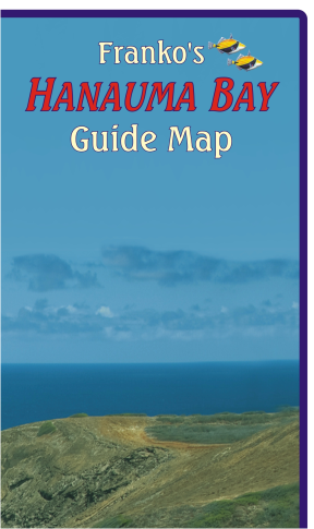 Hanauma Bay Guide Map - Frankos Maps
