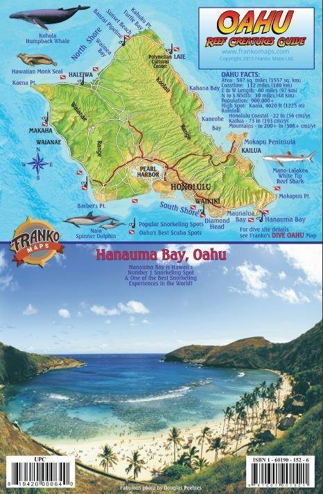 Oahu Fish Card - Frankos Maps