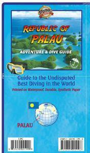 Palau Adventure & Dive Guide Map - Frankos Maps