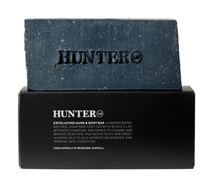 HUNTER LAB : EXFOLIATING HAND AND BODY BAR
