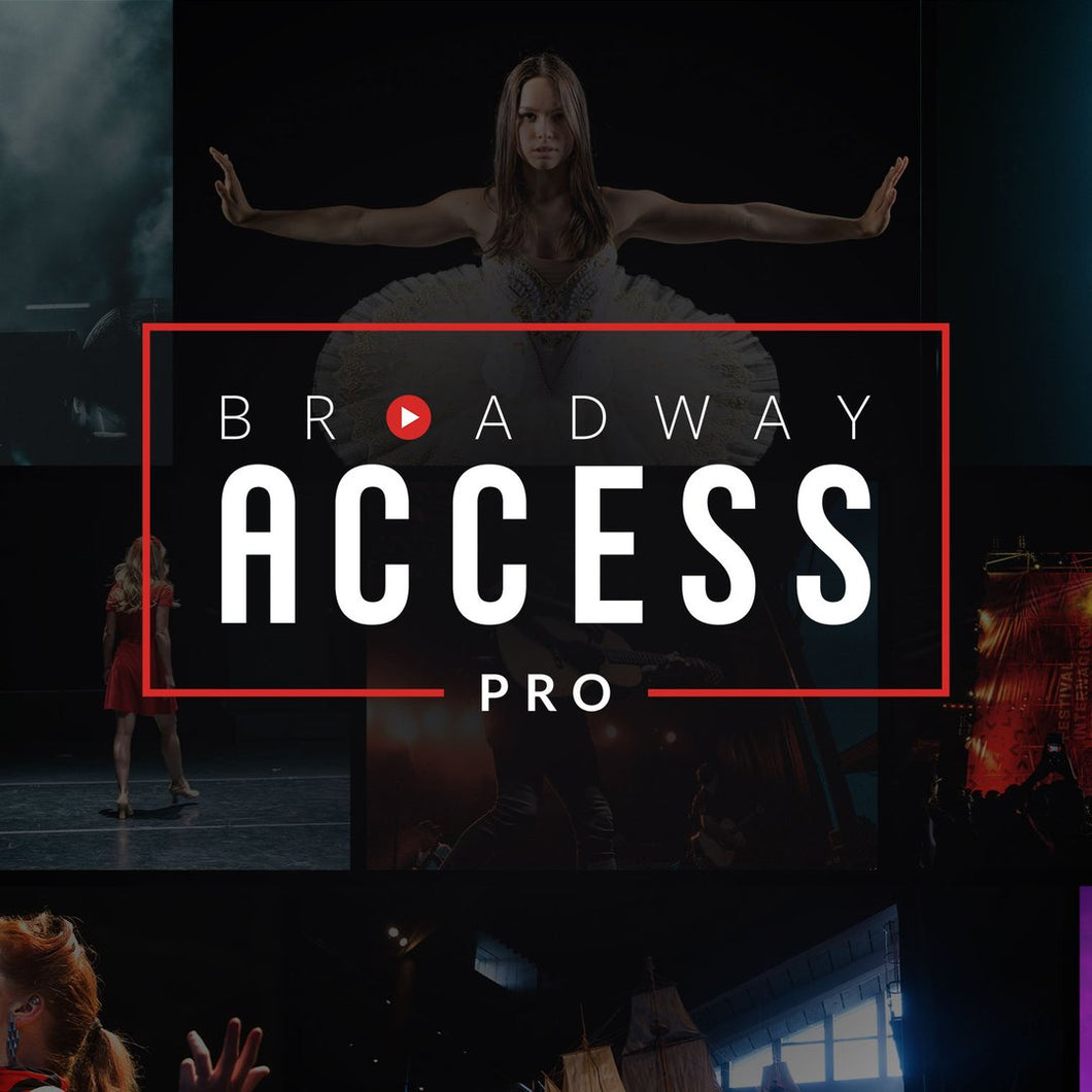 Broadway Access - Pro Yearly TDF (DISPLAY ONLY)