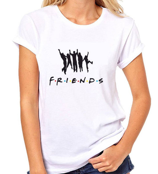 White Printed Premium Dry-Fit Round Neck T-Shirt