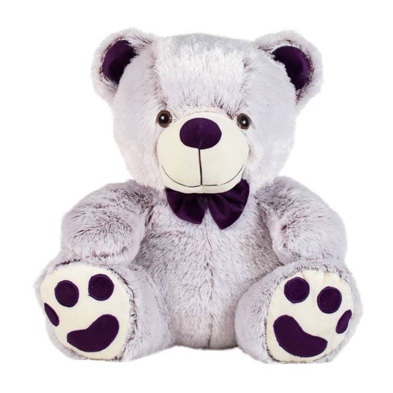 Crony Teddy Bear Soft Toy 17 Inches Purple