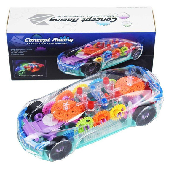 Concept Car Transparent Car Toy