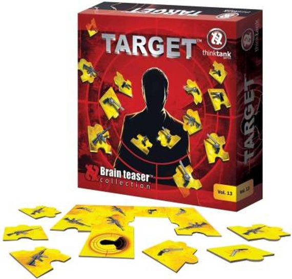 THINK TANK TARGET-A BRAIN TEASER COLLECTION