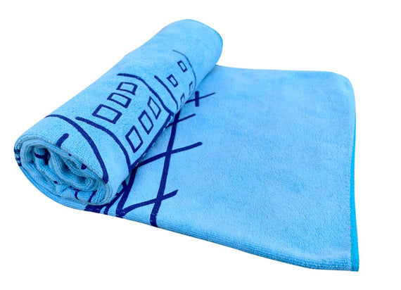 Premium Microfiber Printed Towel For Infant Kids