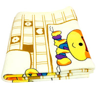 New Born Infant Baby Microfiber Quality Baby Towel Extra Soft Warm Baby Printed Washcloth (5623586685089)