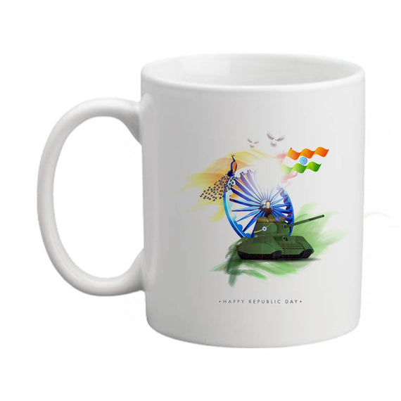 Premium White Printed Coffee Ceramic Mug For Kids