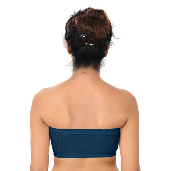 Women Bra Non Padded Tube Bra Off Shoulder Bra for Teenagers Strapless Bra(Pack of 2)
