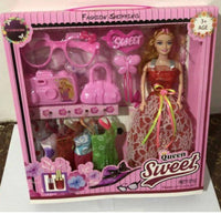 Premium Doll Toy With Accessories For Girls (6083848274081)