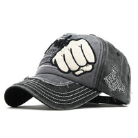 Trendy Grey Denim Sports Summer Cap For Men And Women