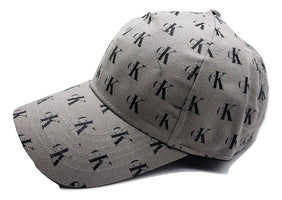 Stylish Cotton Printed Grey Cap For Unisex