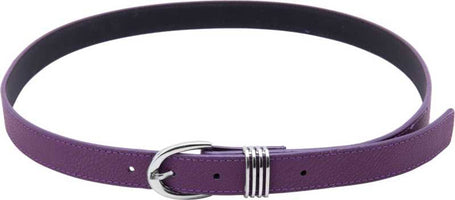 Girls Purple Artificial Leather Belt